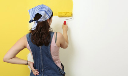 Redecorating to lift your widow spirits