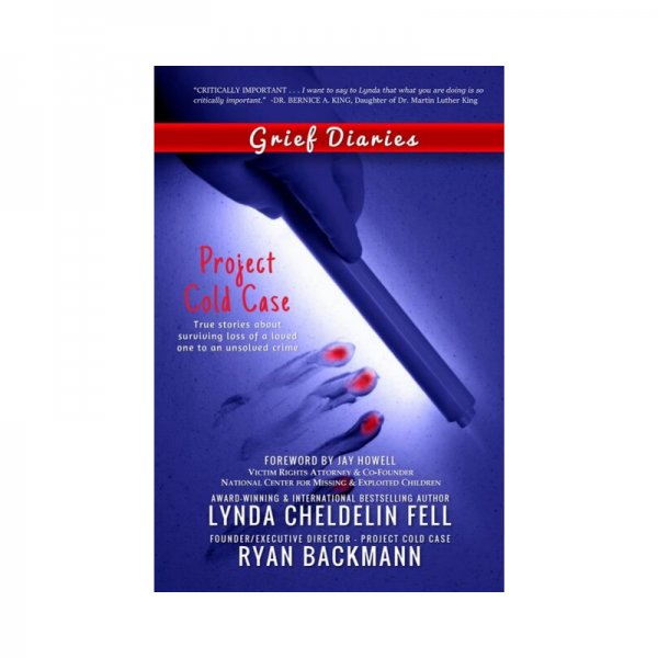 Grief Therapy in a book; homicide