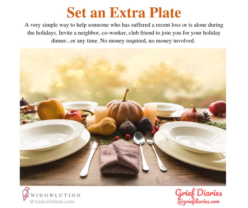 Set an Extra Plate